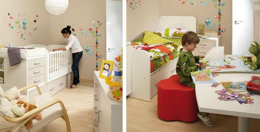 Pensando en la decoraci n de la habitaci n del beb - Decoracion habitacion del bebe ...