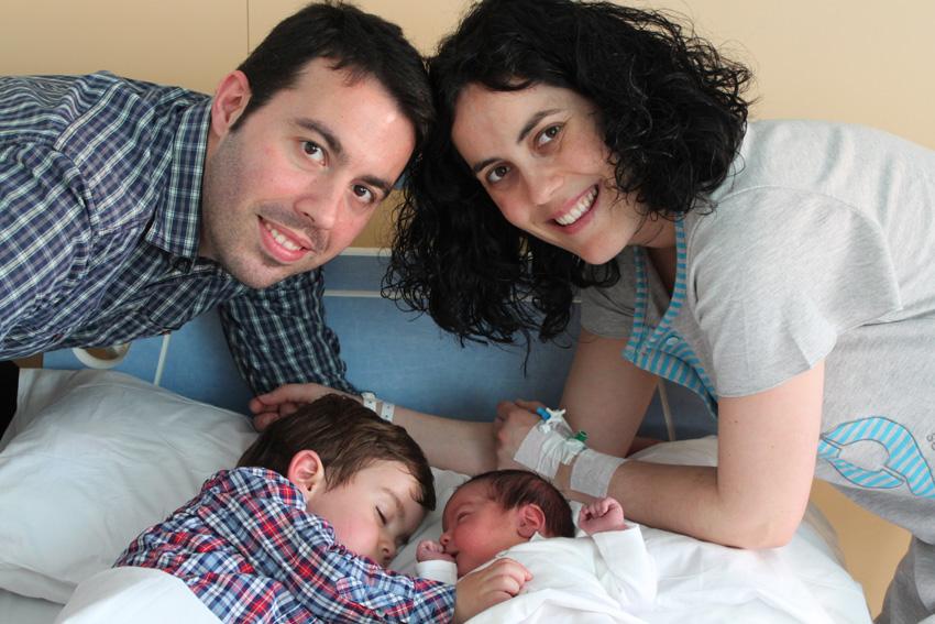 Miquel & Martí con sus papás