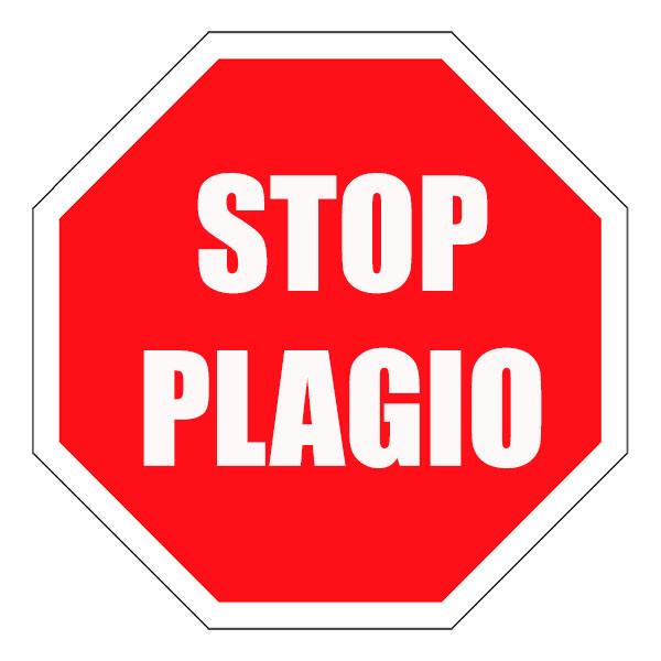 Resultado de imagen de stop plagio