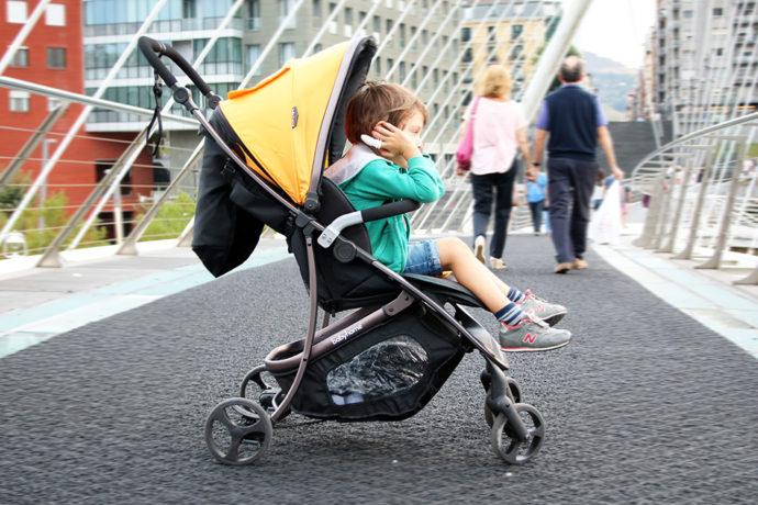 Descubriendo la ciudad con la nueva silla de paseo babyhome vida palabra de madre - Silla babyhome vida ...